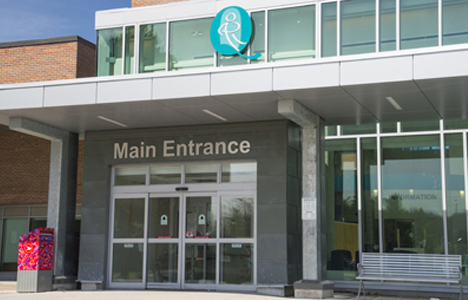 Main Entrance of Hospital