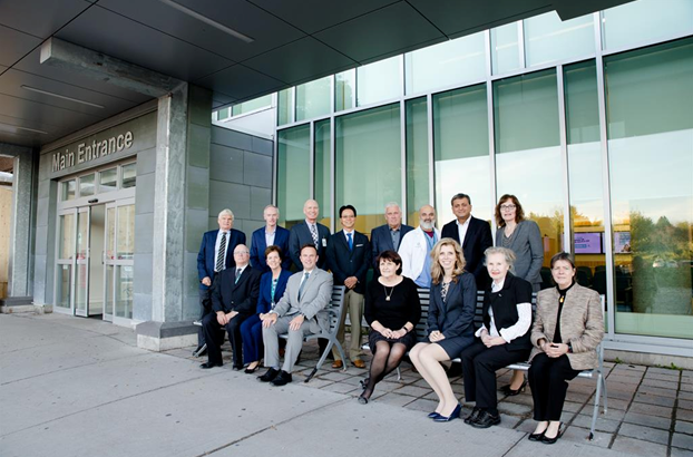 board of directors in front of QCH